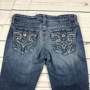 Women's Big Star Size 30R Sweet Low Rise Jeans